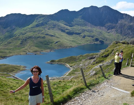 The Lion Inn: Climbing Snowdon