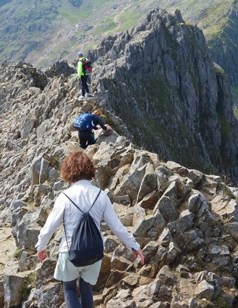 The Lion Inn: Snowdon - The tricky Crib Goch route