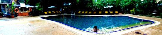Tropica Resort and Restaurant: swimming pool