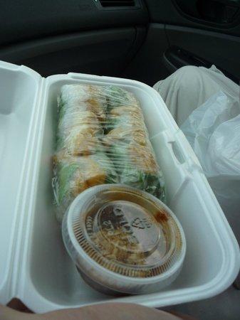 Authentic Vietnamese Pho House: rice wraps to go