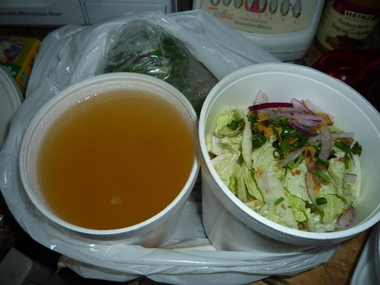 Authentic Vietnamese Pho House: chicken soup to go