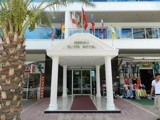 Konakli Nergis Hotel: Entrance