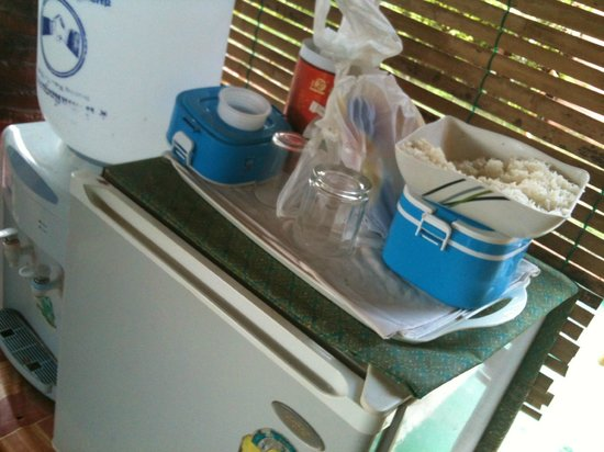 Kantiang Oasis Resort & Spa: Spa-Bereich - falls der Hunger kommt