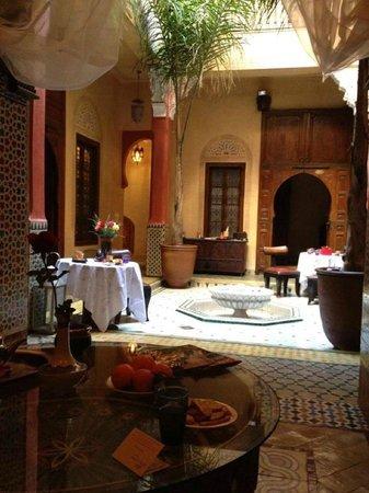 Riad Reves D'orient: le patio