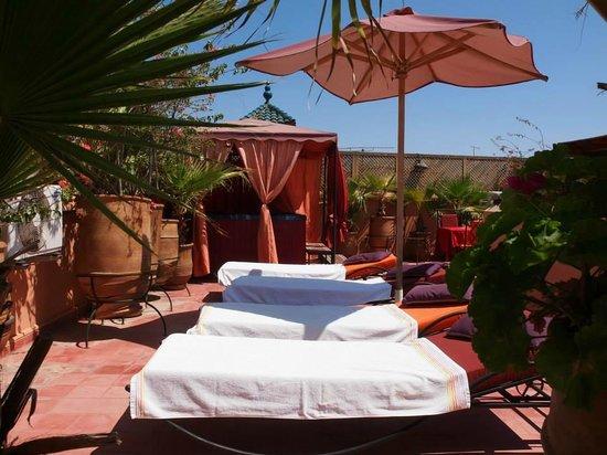 Riad Reves D'orient: terrasse