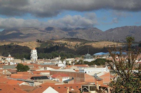La Selenita: Vue sur la ville
