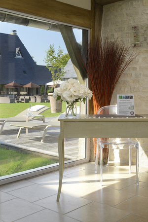 Wellness area at Les Manoirs de Tourgéville-Deauville