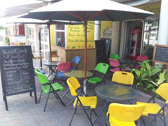 Ric& Cath'snack : Notre terrasse