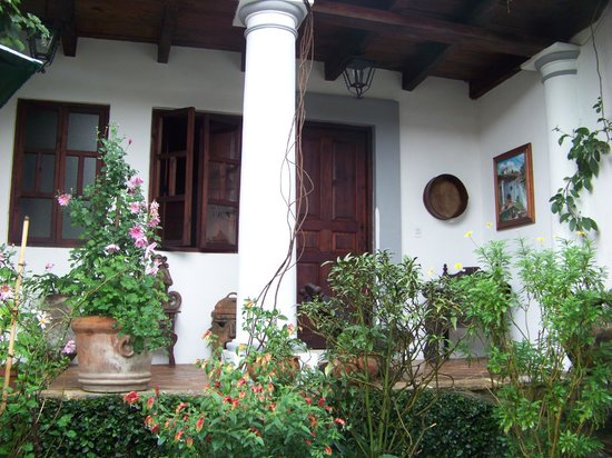 Casa Felipe Flores: My room from the back garden
