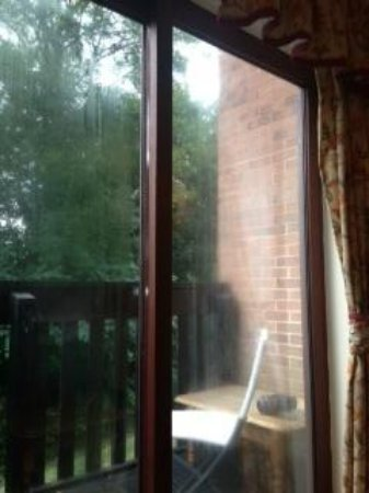 Broken Patio Doors Doors Look Wet And Dirty All The Time Picture