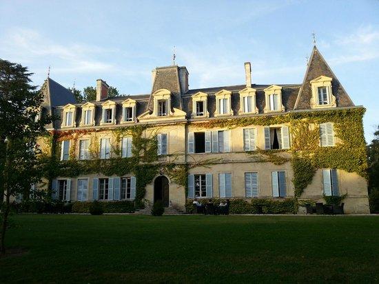 Façade du Chateau de Lalande