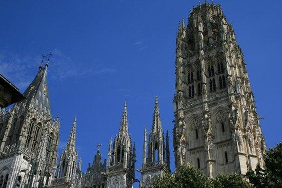 Mercure Rouen Champ de Mars Hotel: La cathédrale de Rouen
