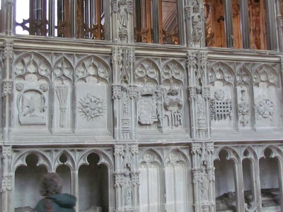 Worcester Cathedral: Prince Arthur tomb