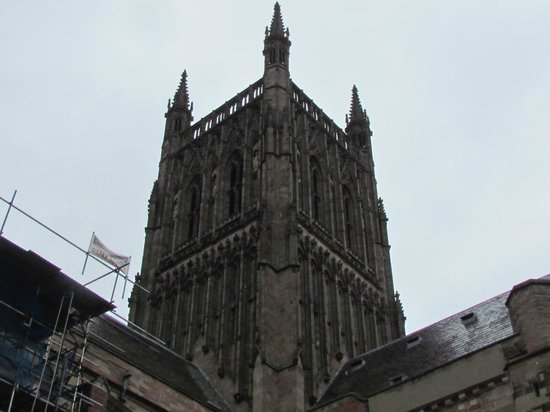 Worcester Cathedral: Cathedral tower