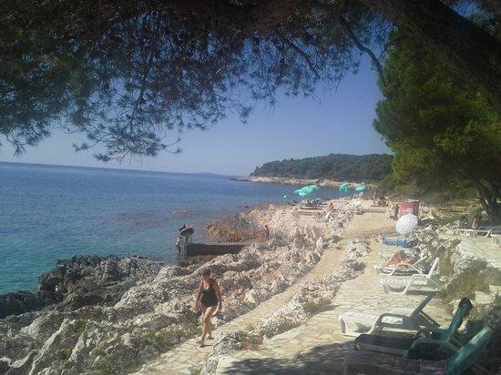 Family Hotel Vespera: la spiaggia
