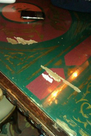 Makani: Scratched tables
