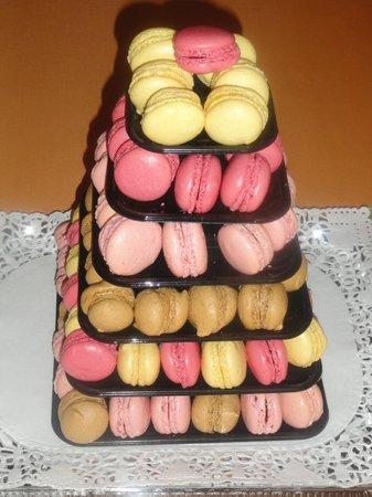 La P'tite Auberge du Fournier: macarons maison