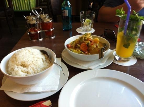 Luang Prabang: nice curry