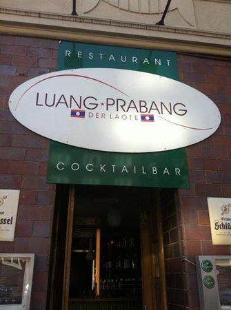 Luang Prabang: front door