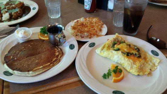Jimmy's Family Restaurant: My vegeterian breakfast meal