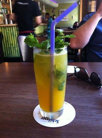 Luang Prabang: mango soda