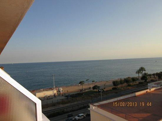 Sorrabona Hotel: mer vue balcon
