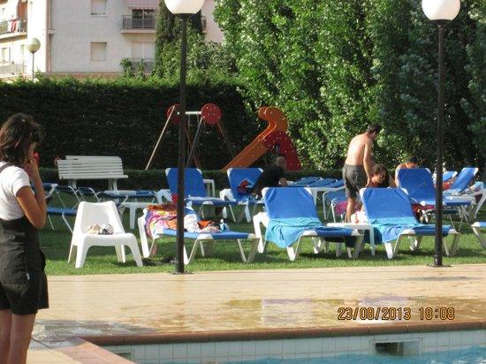 Sorrabona Hotel: jardin