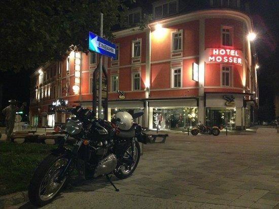 Hotel Mosser: l'esterno dell'Hotel