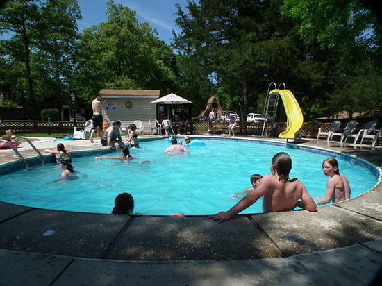 Bar M Resort : Swimming Pool With Water Slide