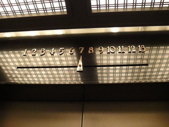 Hotel Monterey Ginza: エレベーター