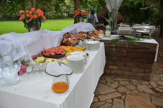 Rivertrees Country Inn: Breakfast buffet