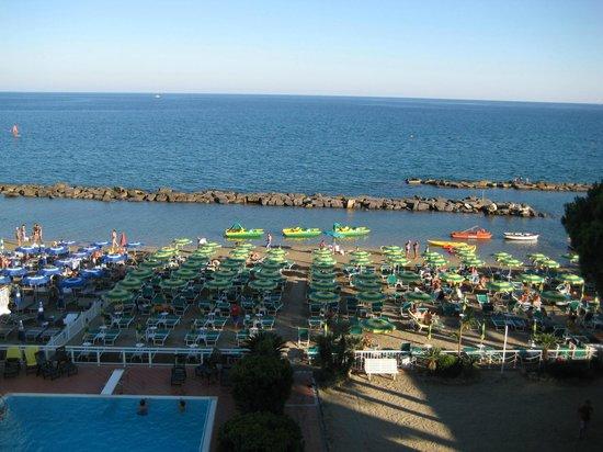 Hotel Gabriella: La spiaggia