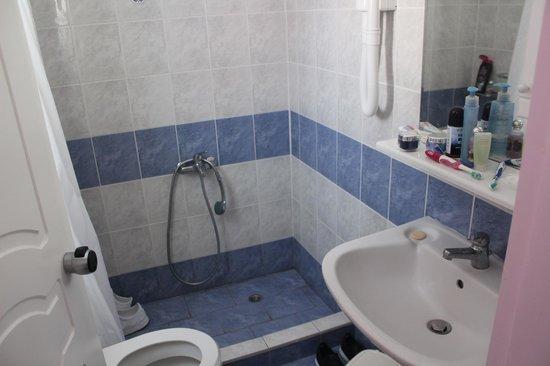 Aphrodite Beach Hotel: bathroom