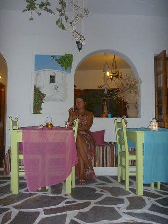 Arian Hotel: Уютный дворик внутри отеля