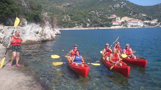 Sea Kayaking with Dubrovnik Adventures - Pera