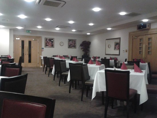 The Oxfordshire Golf Club & Hotel: salle de restaurant