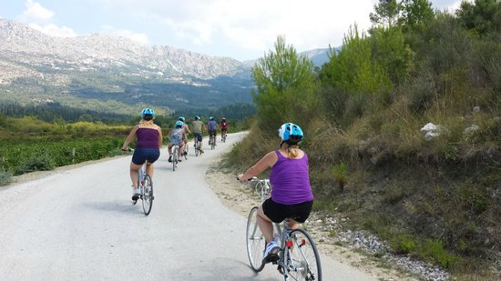 Dubrovnik Adventures: Could've biked for miles more. Beautiful