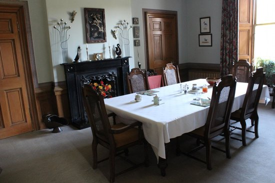 West Plean House: Dining room where breakfast was served