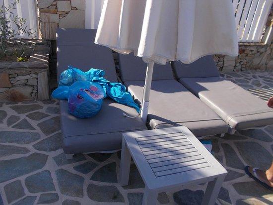 Dionysos Seaside Resort : transats