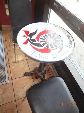 Paris Crepes: Tables