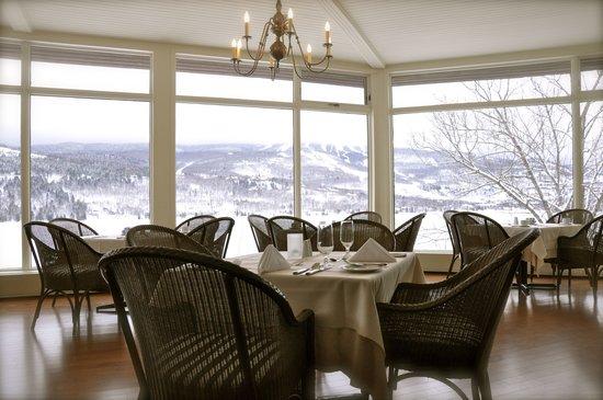 Hotel du Lac: vue salle à manger