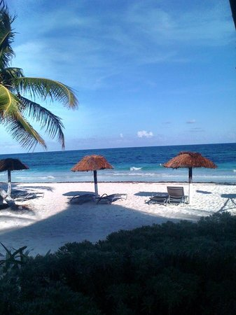 My Tulum Cabanas: the beach