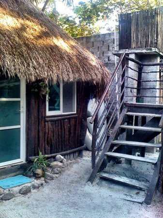 My Tulum Cabanas: rooms from the outside