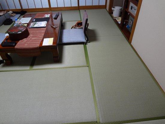 Hagi Grand Hotel Tenku: 畳が綺麗でした。