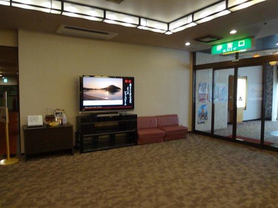 Hagi Grand Hotel Tenku: 2階のロビーです。