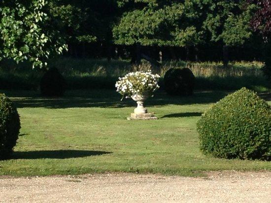 Manoir du Captot : vue sur le jardin