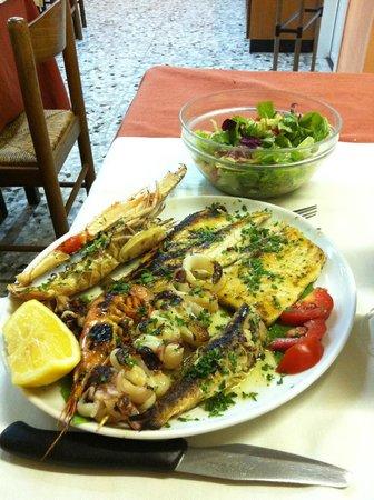La Conchiglia : grigliata di pesce