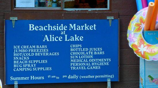 Alice Lake Provincial Park: The Offerings