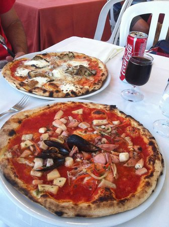 La Conchiglia : pizze