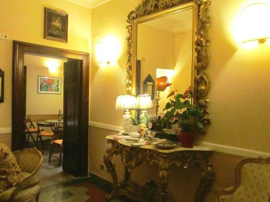 Residenza Maritti: The living area